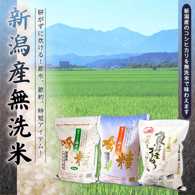 新潟産無洗米